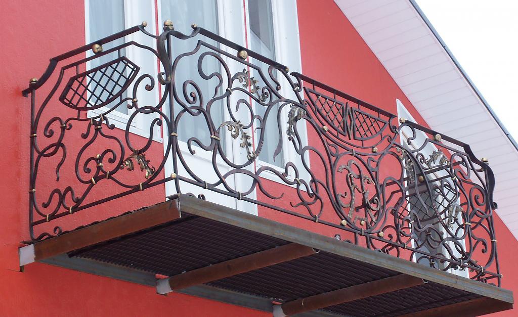 Балконные ограждения 82.