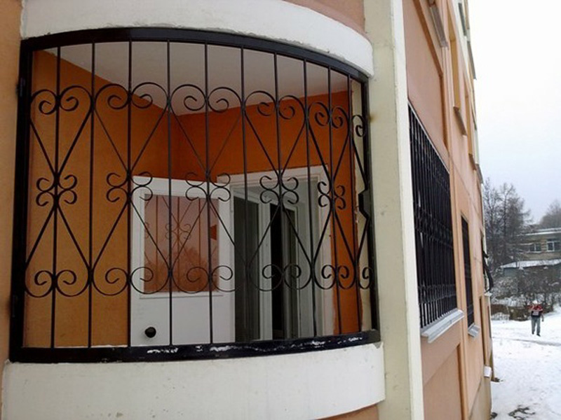 Решетки на балкон 1.