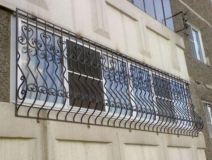 Решетки на балкон 3.