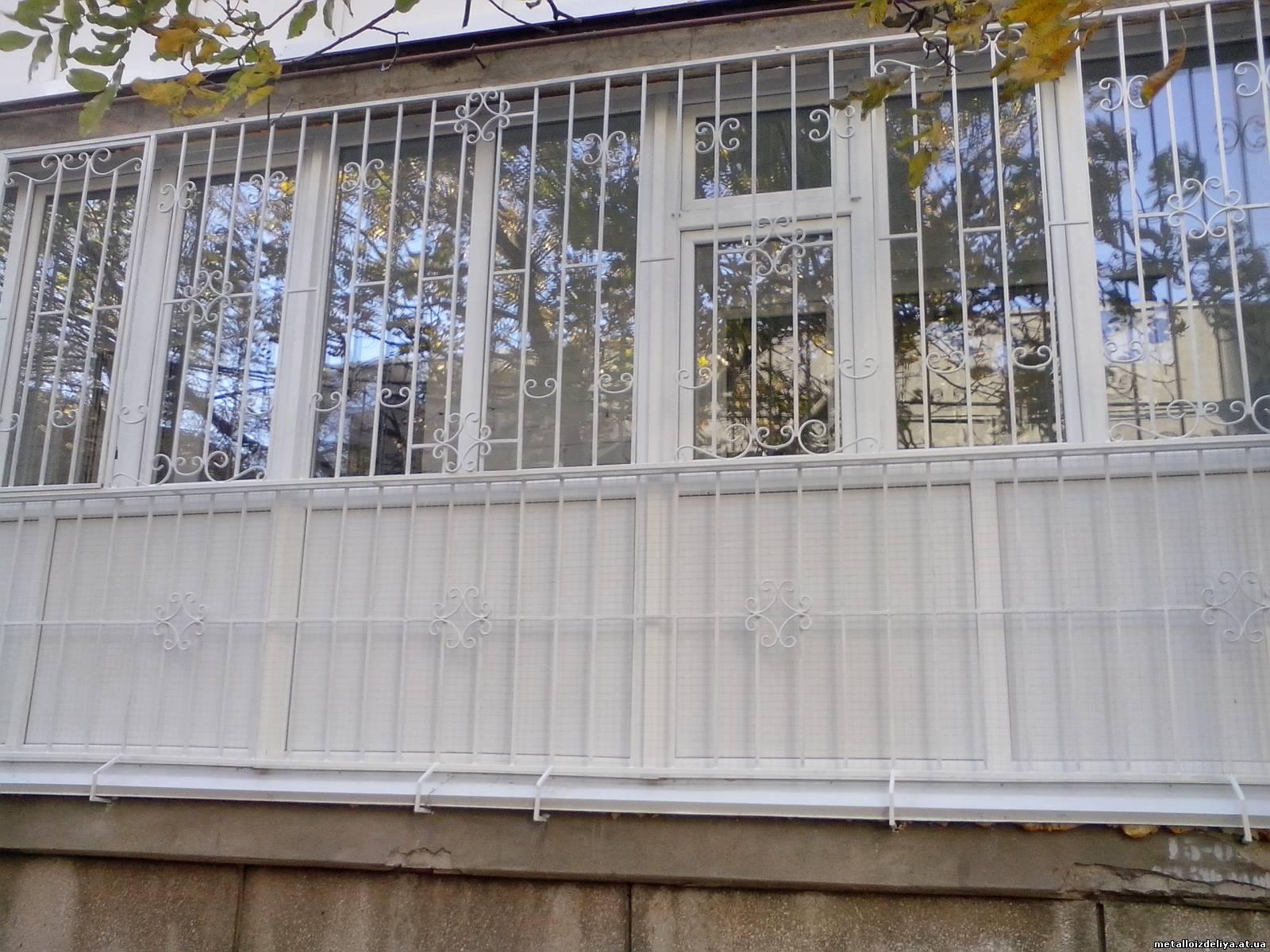 Решетки на лоджию и балкон г. гатчина - мир уюта.