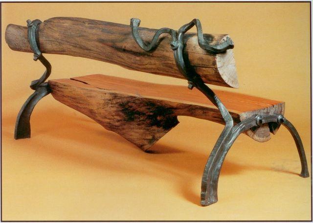 Как сделать кованную лавочку - Усадьба