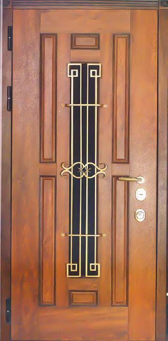входная сейф дверь в коттедж