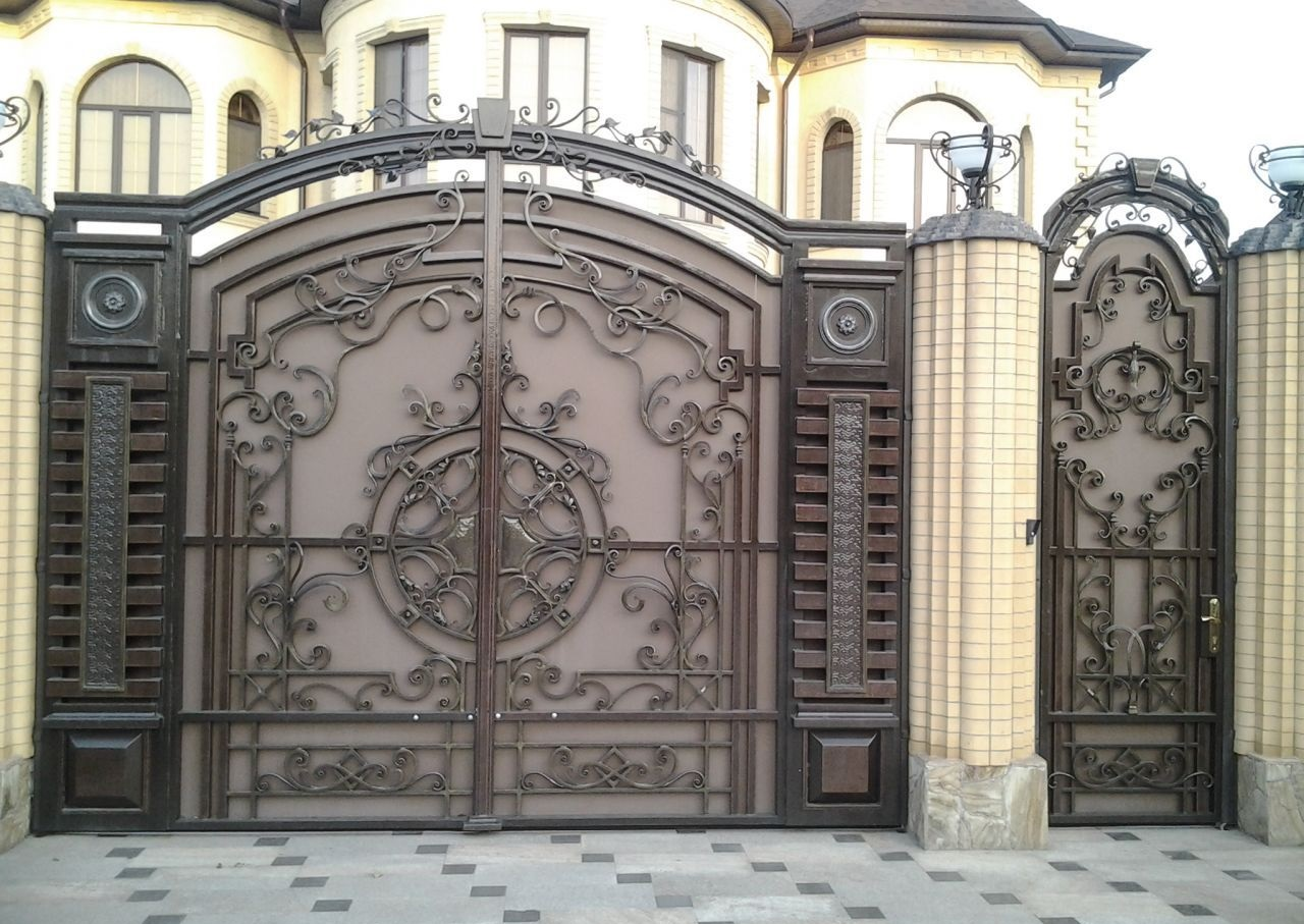 Год советских, картинки красивые ворота и калитки