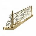 Кованые лестницы на второй этах